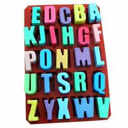 Silikónová forma na mydlo abeceda
