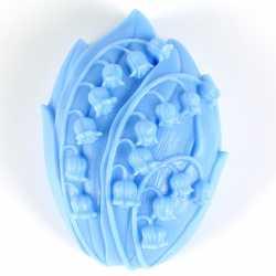 Silikónová forma na mydlo konvalinka