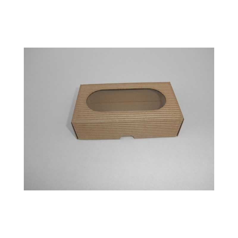 160069056 Darčeková krabička z vlnitej lepenky 12x7x3,5cm - Mydlový svet