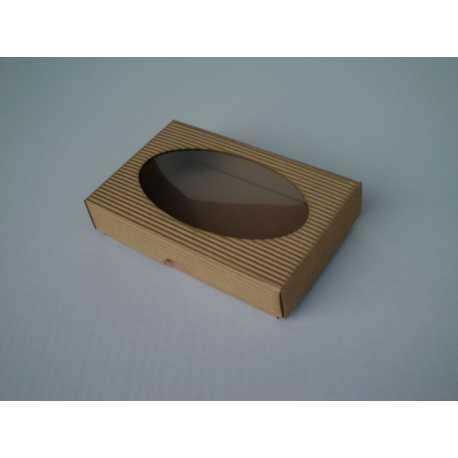 Darčeková krabička z vlnitej lepenky 15x10x3,5cm
