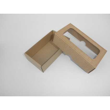 Darčeková krabička z vlnitej lepenky 12x7x3,5cm