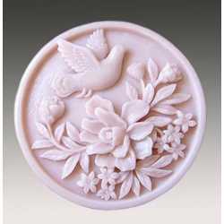 Silikónová forma na mydlo holubica