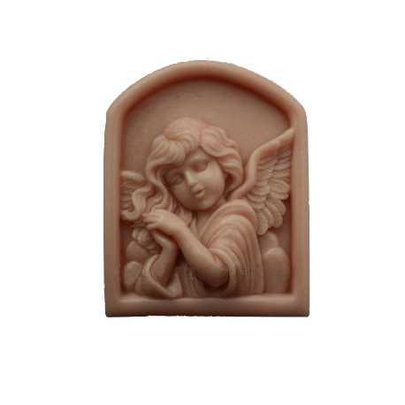 Silikónová forma na mydlo anjel v okne