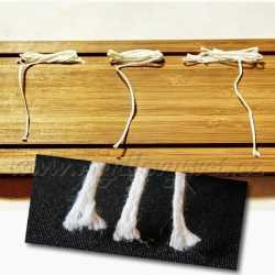 Knot do sviečkového vosku č. 1 - 1m