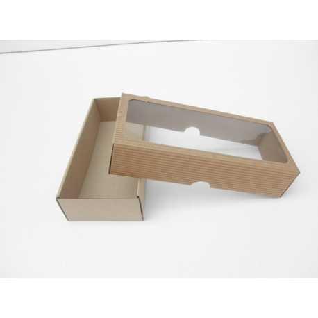 Darčeková krabička z vlnitej lepenky 22x9x4,8cm