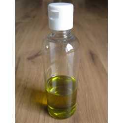 PET fľaša s odklápacím uzáverom 100 ml