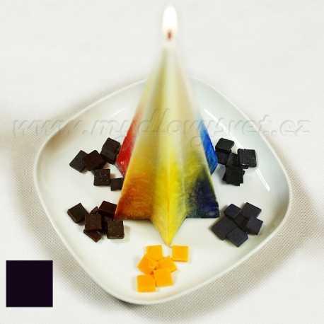 Farba na sviečky - černá 5g