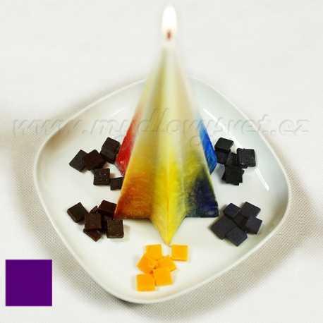 Farba na sviečky - fialová 5g