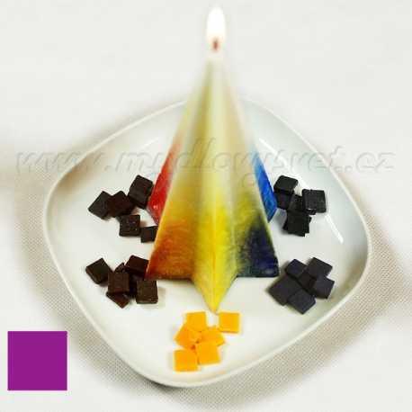 Farba na sviečky - fialová lila 5g