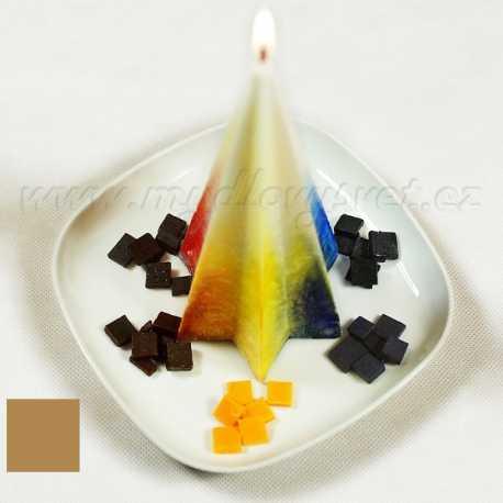 Farba na sviečky - hnedá karamelová 5g