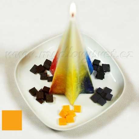Farba na sviečky - žltá nechtíková 5g