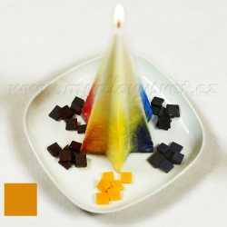 Farba na sviečky - medová 5g