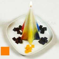 Farba na sviečky - marhuľová 5g