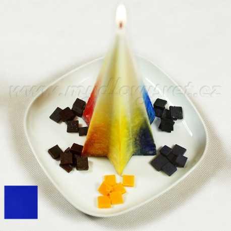 Farba na sviečky - modrá 5g