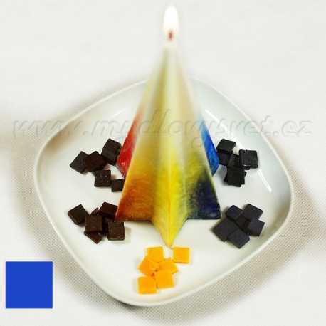 Farba na sviečky - modrá jasná 5g