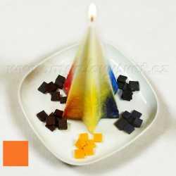 Farba na sviečky - oranžová 5g