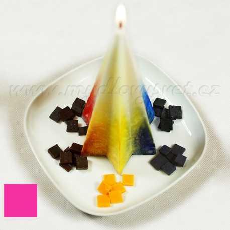 Farba na sviečky - ružová fuksiová 5g