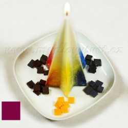 Farba na sviečky - purpurová 5g