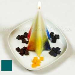 Farba na sviečky - tyrkysová 5g