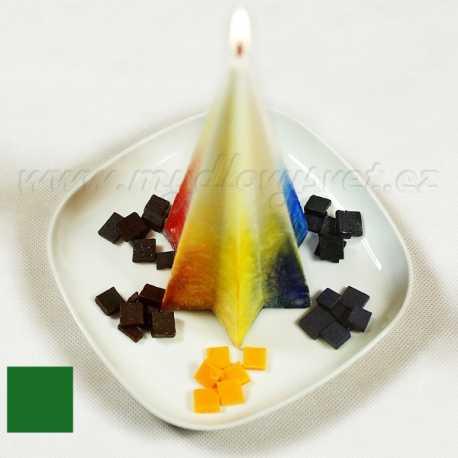 Farba na sviečky - zelená 5g