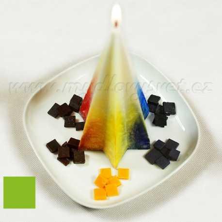 Farba na sviečky - zelené jablko 5g