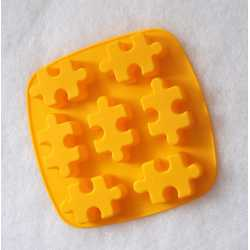 Silikónová forma na mydlo puzzle