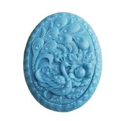 Silikónová forma na mydlo páv