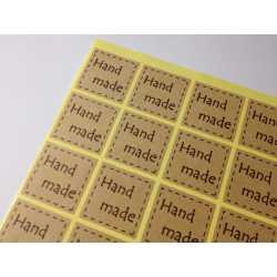 Samolepky HAND MADE IV.- 20ks