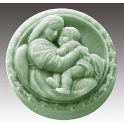 Silikónová forma na mydlo matka a dieťa