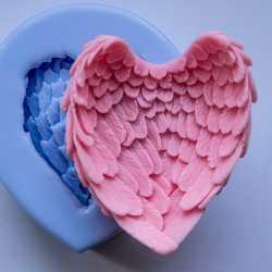 Silikónová forma na mydlo anjelské krídla