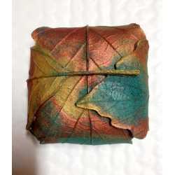 Silikónová forma na mydlo balíček z listov