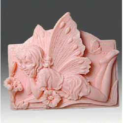 Silikónová forma na mydlo ležiaca víla