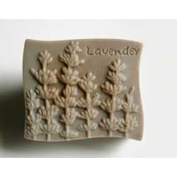 Silikónová forma na mydlo levanduľa III.