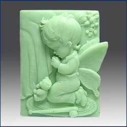 Silikónová forma na mydlo anjelik chlapček II.