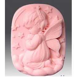 Silikónová forma na mydlo anjelik dievčatko II.