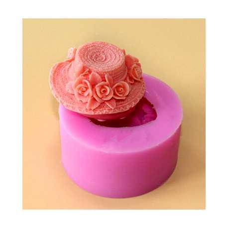 Silikónová forma na mydlo klobúčik