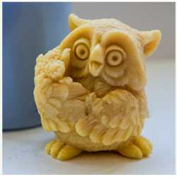 Silikónová forma na mydlo sovička