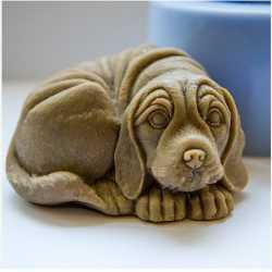 Silikónová forma na mydlo 3D psík