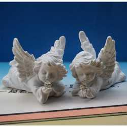 Silikónová forma na mydlo a sviečku 3D anjelik II.