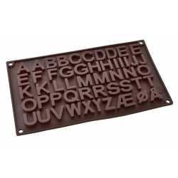 Silikónová forma na mydlo abeceda II.
