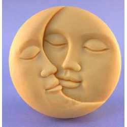 Silikónová forma na mydlo mesiac