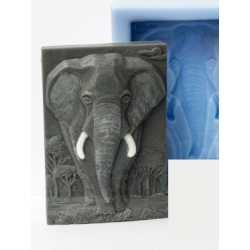 Silikónová forma na mydlo slon