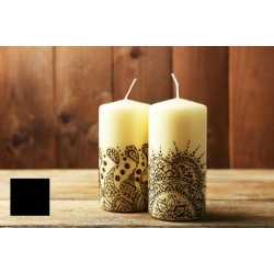 Farba na maľovanie sviečok - černá 5g