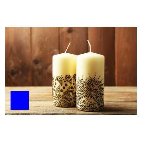 Farba na maľovanie sviečok - modrá 5g