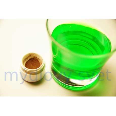 Prášková neónová farba zelená 5g