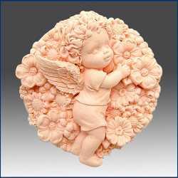 Silikónová forma na mydlo kvetinový anjelik