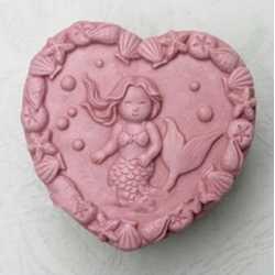 Silikónová forma na mydlo malá morská víla