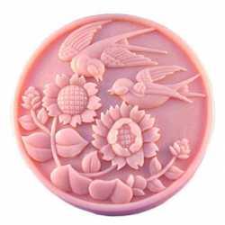 Silikónová forma na mydlo lastovičky