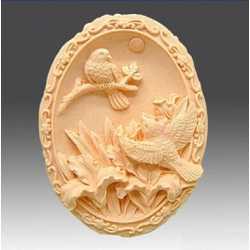 Silikónová forma na mydlo vtáci