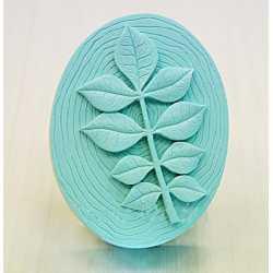 Silikónová forma na mydlo štvorlístky